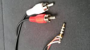rca to mm trs cable steps rca to 3 5 mm trs cable
