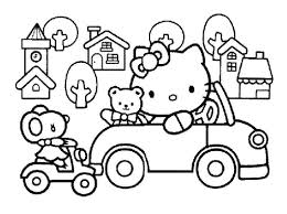 Hello kitty coloring page with few details for kids free hello kitty coloring page to print and color Awesome Hello Kitty Train Coloring Pages In 2021 Hello Kitty Coloring Hello Kitty Colouring Pages Kitty Coloring