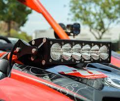 Baja Designs Onx6 Can Am Maverick Onx6 Shock Mount Led Light Kit Baja Designs