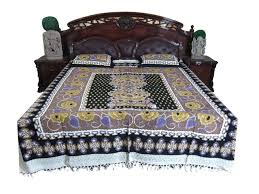 india authentic handloom throws printed bedspread pillow covers
