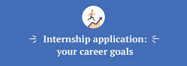 what are your professional goals everything you should know about internship essays