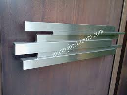 modern door pulls. Assimetric Rectangular Modern Pull Door Pulls |