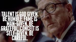 John Wooden Quotes Unique John Wooden The Difference Between Winning And Succeeding TED
