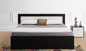 King Size Bedroom Buy Exton King Size Bed With Storage Online In India Livspacecom