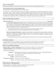 technical training manager resume salon manager resume 20 sample resume of  facility manager for data .