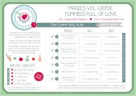 Meal Plans Tummies Full Of Love