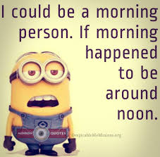 funny morning quote with saying