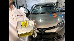 2006 Toyota Corolla Airbag Light Stays On Toyota Corolla Airbag Srs Module Location Reset Myairbags Com