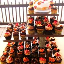 fall wedding cupcakes. Contemporary Cupcakes Fall Themed Wedding Cupcakes  Inside 0