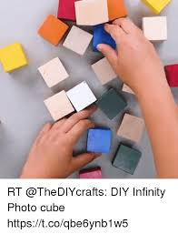 rt thediycrafts diy infinity photo cube s t co