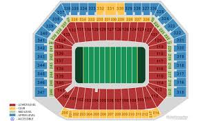 Ford Field Lions Seating Chart Detroit Lions Home Schedule 2019 Seating Chart