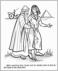 Joseph Coat Of Many Colors Coloring Page Luxury Joseph And His Coat