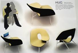 Industrial design furniture Abstract Next Luxury Furniture Design Spotlight Hug Chair Brain Pickings