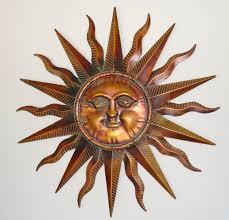 impressive articles with sun moon metal wall art tag sun metal wall art sun with regard to outdoor sun wall art attractive