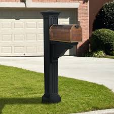 Mailbox And Post Mailbox Post Designs womenforwikorg