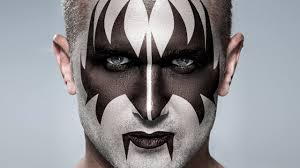 photo tutorial kiss how to apply gene simmons makeup to a photo you