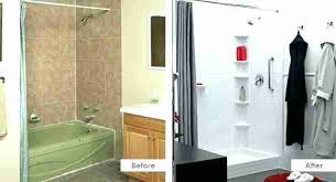 bath fitter cost of shower on bathroom in bath fitter shower cost bath acrylic s are