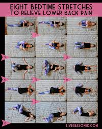 bedtime stretches to relieve lower back