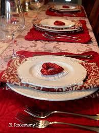 romantic valentine s day table setting ideas 092
