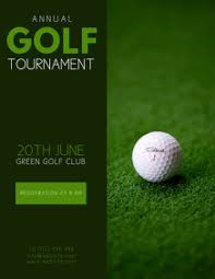 Golf Tournament Flyer Template 300 Golf Customizable Design Templates Postermywall