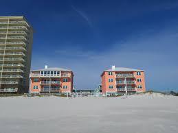 harbor house on the beach