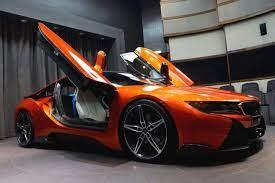 Bmw I8 Lava Orange Und Ac Schnitzer Tuning In Abu Dhabi