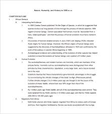 Chapter Outline Format Under Fontanacountryinn Com
