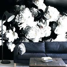 large print fl wallpaper uk black