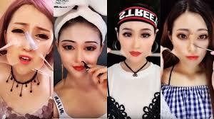 viral asian makeup transformations asian makeup tutorials pilation 3