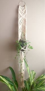 macrame plant hanger patterns