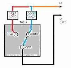 line voltage thermostats for heating & cooling air conditioner thermostat wiring diagram at Cooling Thermostat Wiring Diagram