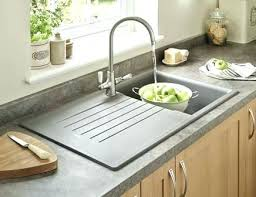 Granite Sink Vs Stainless Steel Composite  Amaze Sinks Grey Single Bowl  B69