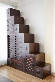 dual purpose furniture. this japanesestyle tansu step chest would make an awesome dualpurpose piece dual purpose furniture
