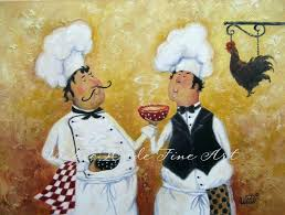 kitchen paintings paintings for kitchen fat chefs art print chef paintings art kitchen art wall kitchen kitchen paintings