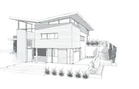 Design Drawing Architectural Drawings Of Modern House Plans Medium
