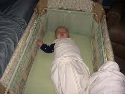 graco bedroom bassinet portable crib. my son sleeping like a rock in the graco travel lite crib with stages bedroom bassinet portable
