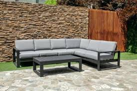 outdoor corner sofa large corner metal sofa set by maze rattan garden corner sofa covers uk