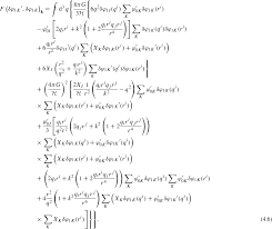 we leave the translation of individual terms in equation 3 4 to appendix d and give the result here