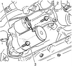 solved location of starter for 1999 cadillac catera fixya remove the starter motor and bolts