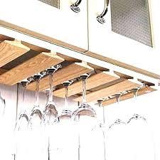 wine glass rack idea within how to make holder prepare outdoor rustic hanging stemware ikea uk