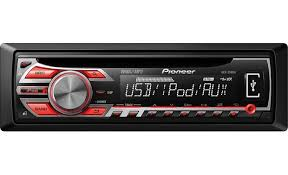 pioneer deh 2500ui cd receiver at crutchfield com Pioneer Radio Wiring Diagram pioneer deh 2500ui front