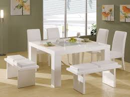 white dining room table. Catchy Modern White Dining Room Chairs Home Ideas Table S