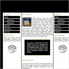 Film Template For Photos Film Template Free Website Templates In Css Html Js Format For