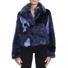 emporio armani women s blue fur coats fur coats women emporio armani giorgio armani fur coats zjb22t zj643 giglio en