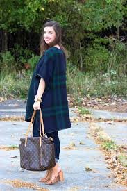 Image result for plaid ponchos