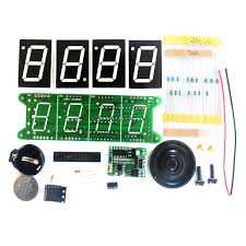 ds3231 timing light control diy digital electronic alarm clock kit with temperature countdown stopwatch