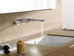 wall mounted sink faucets pics of how to install a wall mount kitchen faucet