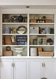 Living Room Bookshelf Decorating Bookcase Styling Via Jill Meyers Meyers Meyers Hinson For The