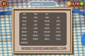 Word Cookies Praline Level 4 - Word Cookies Answers