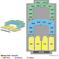 Roy Thomson Hall Seating Chart Detailed Massey Hall Concerts Seating Chart Massey Hall Concerts